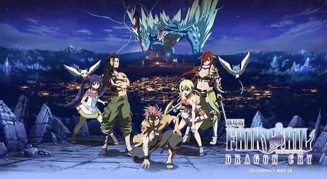 Fairy Tail Movie 2: Dragon Cry BD Subtitle Indonesia