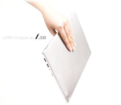 Super Ultrabook Z330 from LG