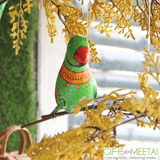 Decorative Hanging Parrots Ropes