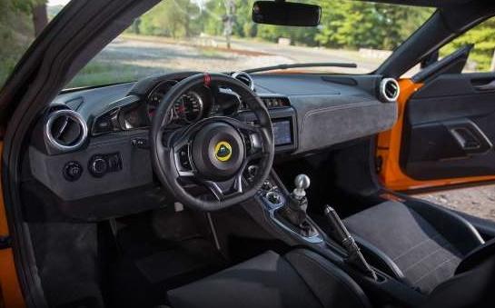 2017 Lotus Evora 400 REVIEWS interior