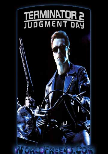 Poster Of Terminator 2 (1991) BRRip Hindi Dubbed 720P Full Movie Free Download And Watch Online At worldfree4u.com