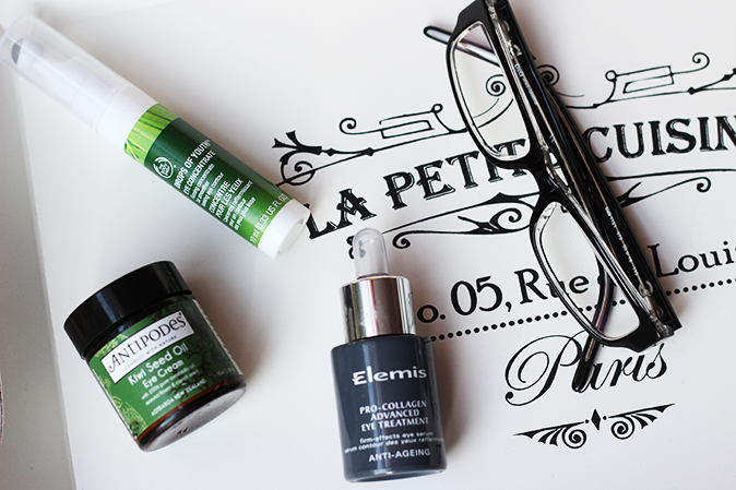 Tips for tired eyes antipodes eye cream elemis eye treatment and the body shop drops of youth eye concentrate