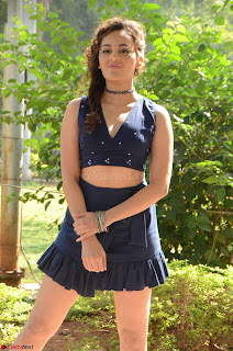 Seerat Kapoor Stunning Cute Beauty in Mini Skirt  Polka Dop Choli Top ~  Exclusive Galleries 022.jpg