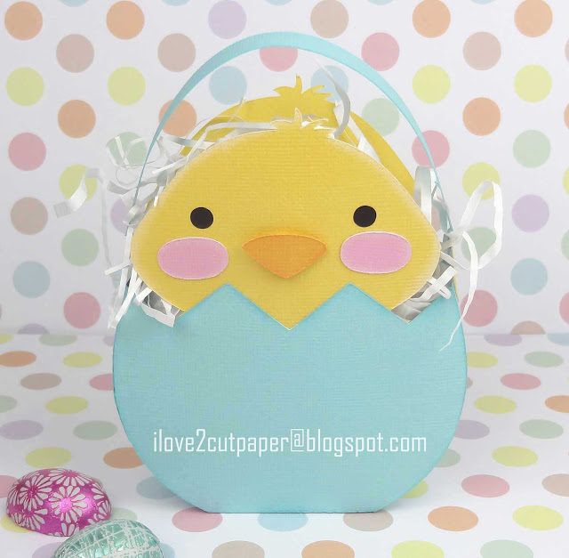 Lil Peanuts, Chick gift bag, ilove2cutpaper, LD, Lettering Delights, Pazzles, Pazzles Inspiration, Pazzles Inspiration Vue, Inspiration Vue, Print and Cut, svg, cutting files, templates, Silhouette Cameo cutting machine, Brother Scan and Cut, Cricut