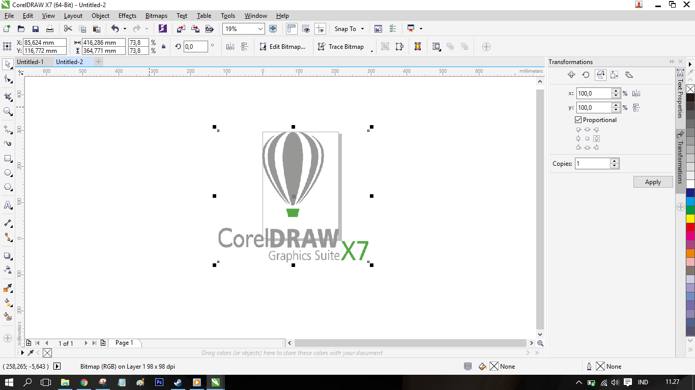 Cara Menghapus Background Di Coreldraw X7 Menjadi Transparant Darkraven57
