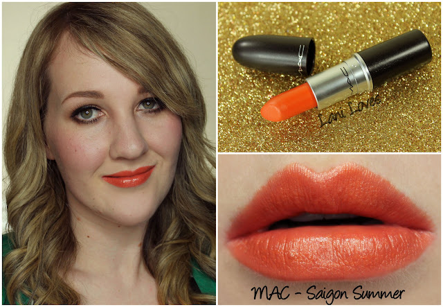 MAC Saigon Summer lipstick swatch