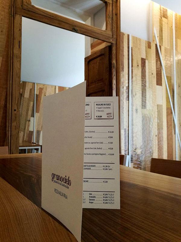 creare menu personalizzati per pizzerie