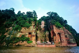 Places Sea Leshan Giant Buddha