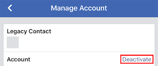 Facebook: How Do I Deactivate My Account Temporarily?