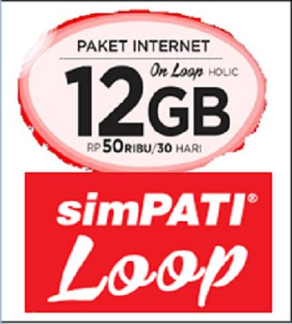 Bingung Cara Daftar Internet Simpati Loop 12GB?