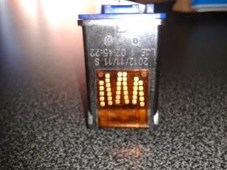 hp 22 tricolor conector