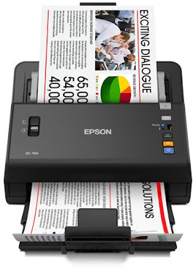 Epson WorkForce DS-760 Driver Download