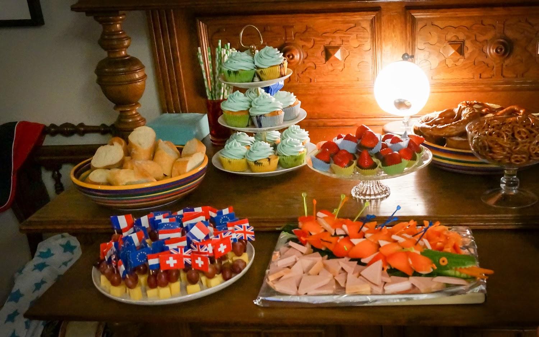Buffet Kindergeburtstag Brunch Buffet Frühstück Ideen Zum