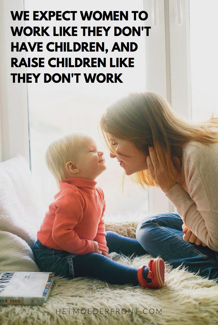fulltime moederen
