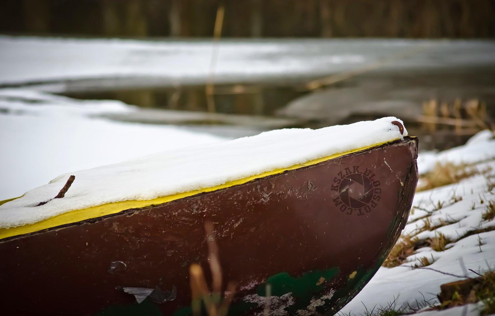 Śnieżna łódź