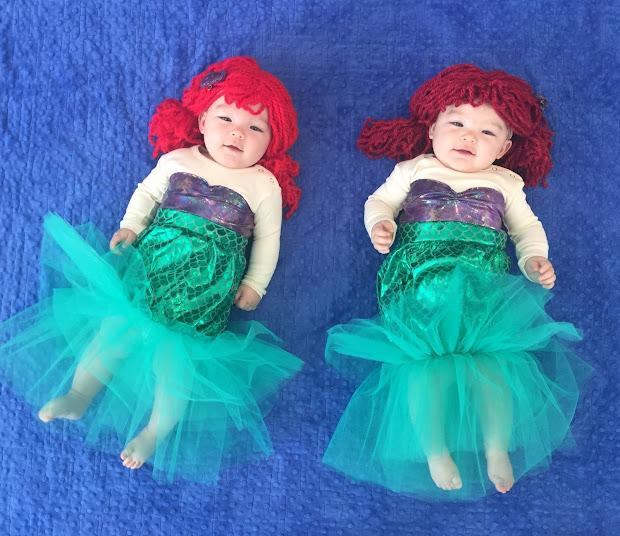 Lo Ray & Little Mermaids Diy Halloween Costumes