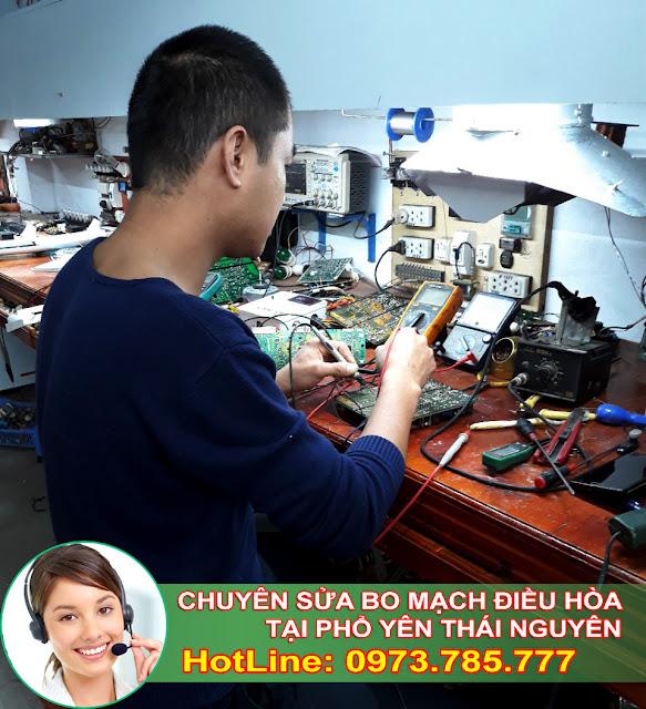 Sửa bo mạch Điều Hòa tại Phổ Yên