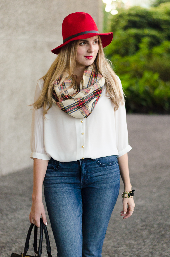 How to Style a Wide-brim felt Hat