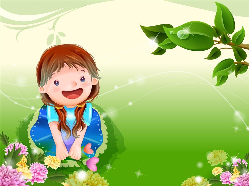 Beautiful Cartoon Girl Hd Wallpaper Cool Wallpaper Cute Cartoon