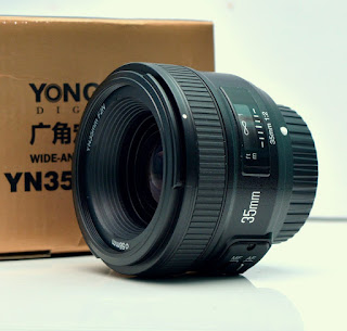 Jual AF-S YN35mm For Nikon Lens Fix - Baru