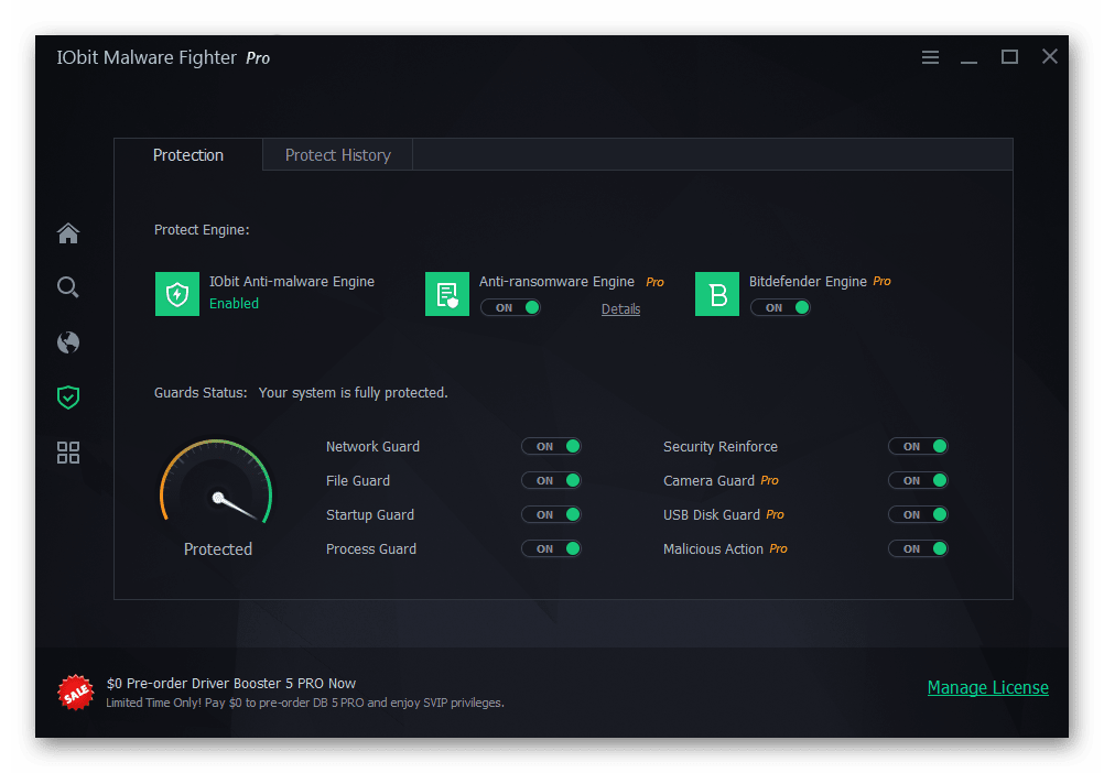 iobit malware fighter 5.1 ключ