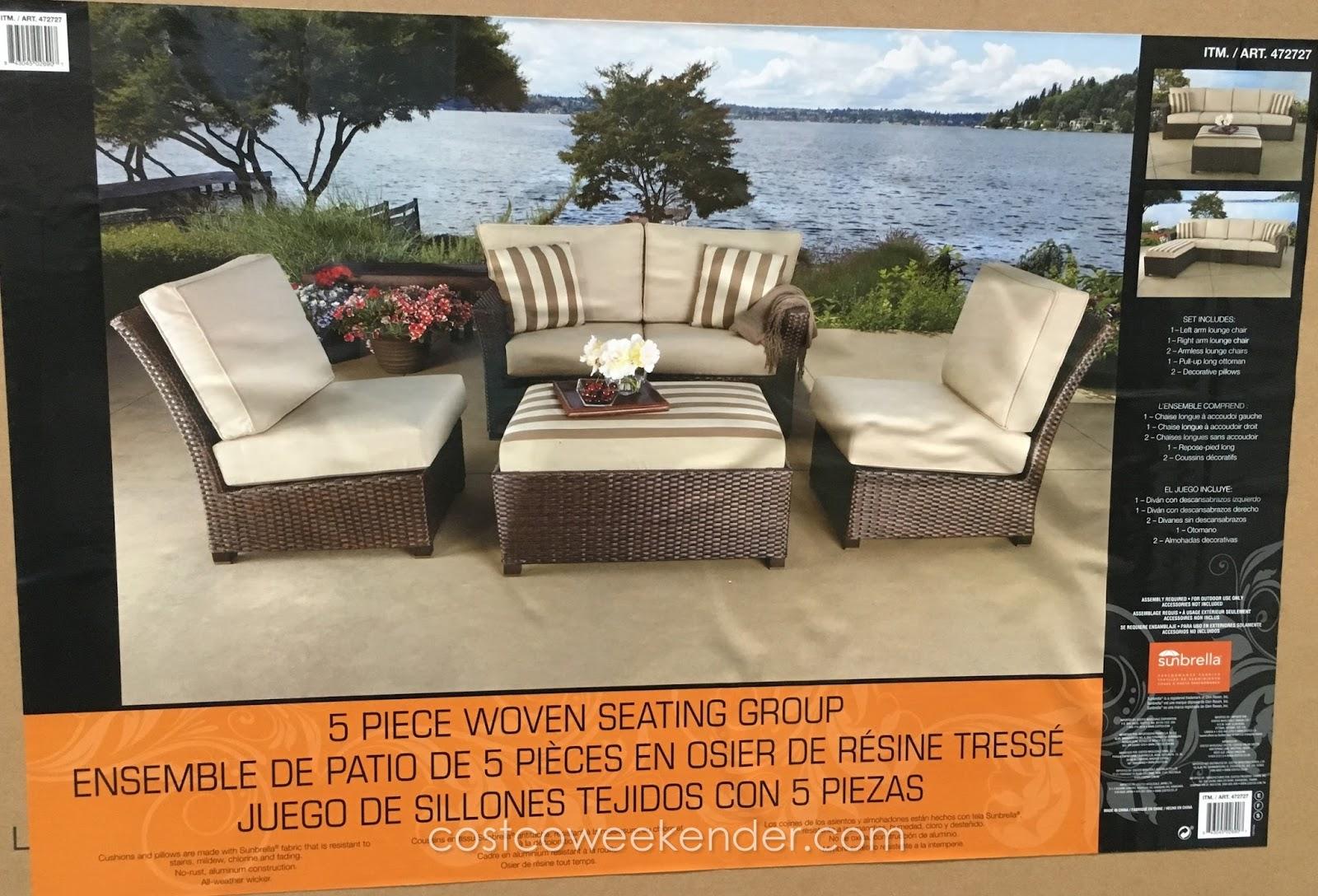 Sunbrella Cushions Costco Bruin Blog