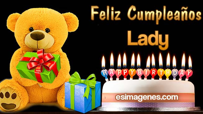 Feliz Cumpleaños Lady