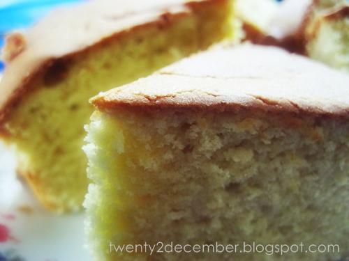 twentydecember kek kismis enak  gebu sedap walau  kismis Resepi Kek Oren Tanpa Mentega Enak dan Mudah