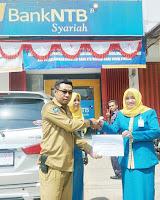 Bank NTB Syari'ah Serahkan Hewan Qurban untuk Masyarakat Kabupaten Bima