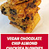 #Vegan Chocolate Chip Almond Chickpea Blondies