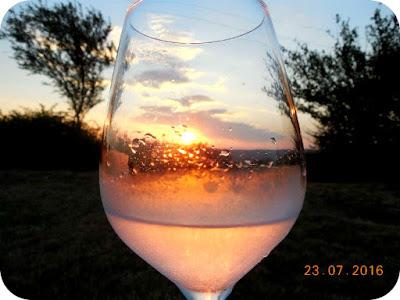 esenta locului surprinsa intr-un pahar de vin