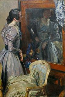 Жак-Эмиль Бланш Jacques-Emile Blanche  В зеркале