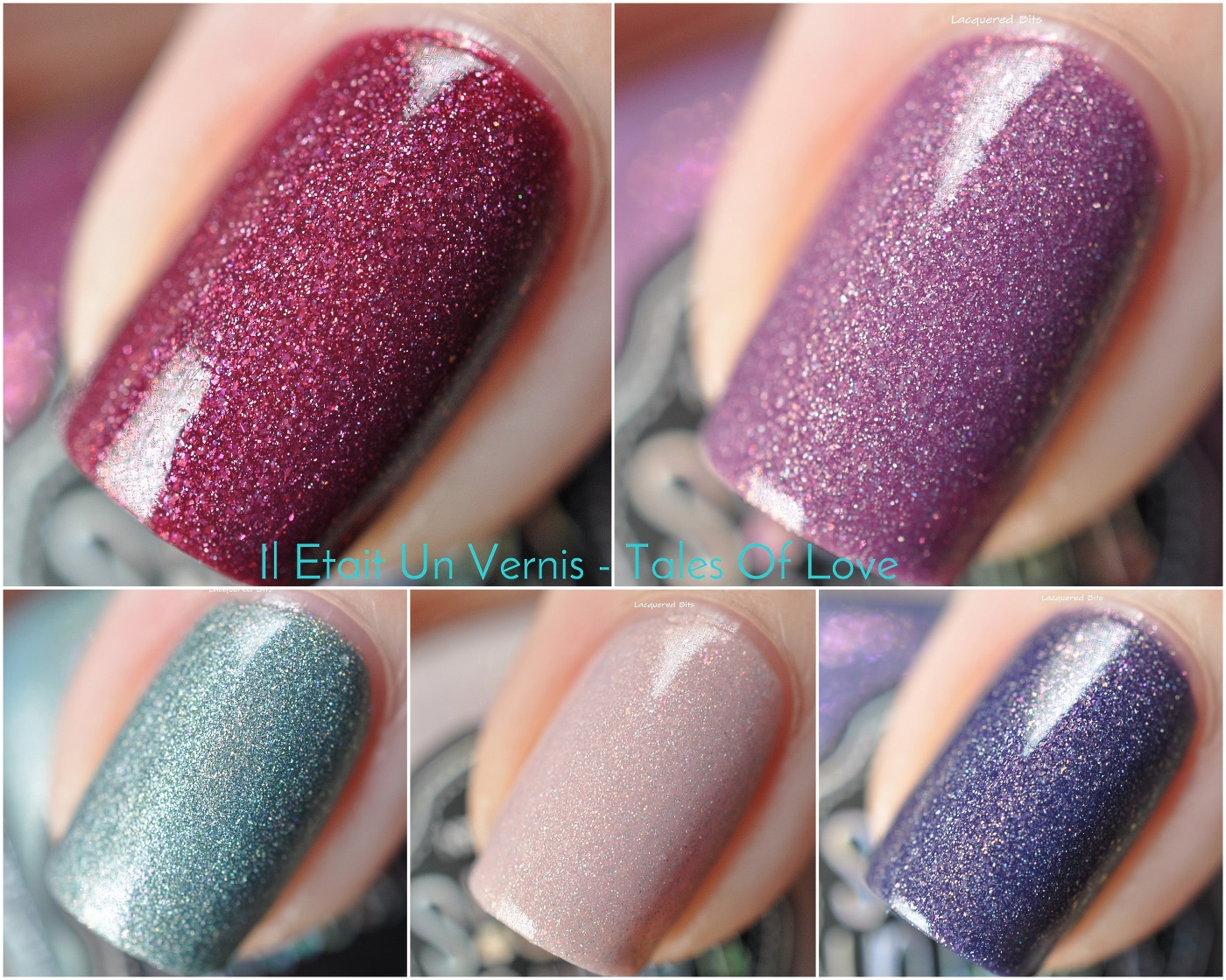 Il Etait Un Vernis Spring 2016 - Tales Of Love - Swatches & Review