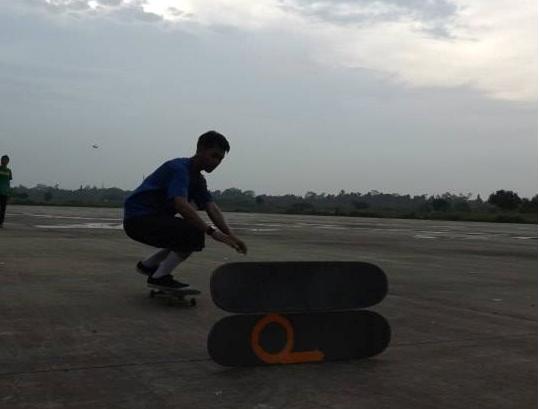 Kekompakan Komunitas Batalion Skateboarding Gunung Putri