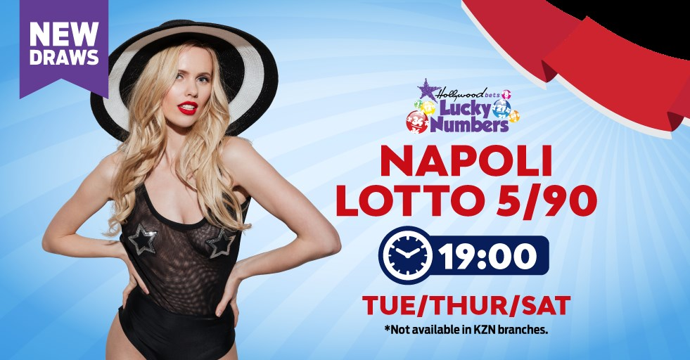 Napoli Lotto 5/90 - Lucky Numbers - Hollywoodbets