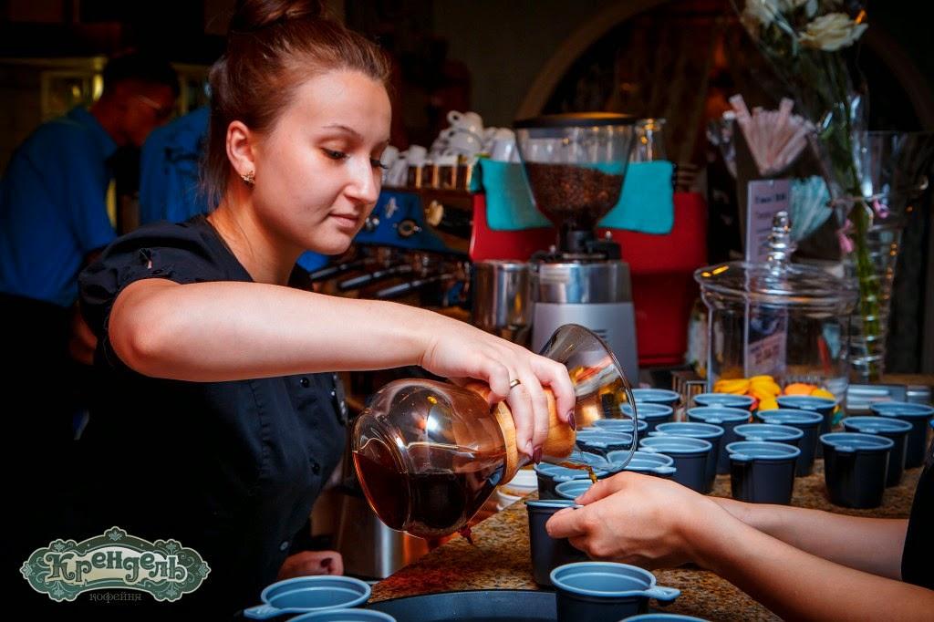 кофе, способ кемекса, кемекс