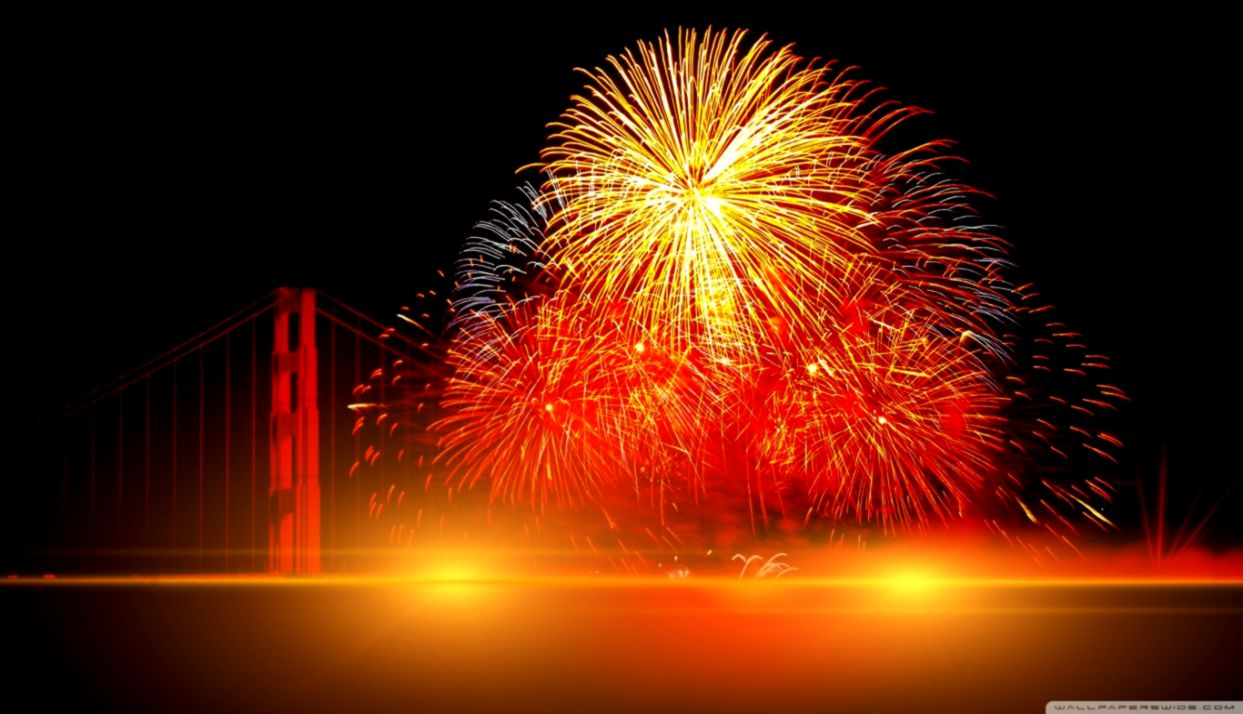 Happy New Year Fireworks Wallpapers Hd Soft Wallpapers