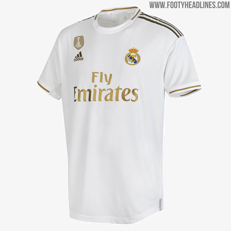 new arrival f726c 72bba Real Madrid 19-20 Home Kit Released - Footy Headlines