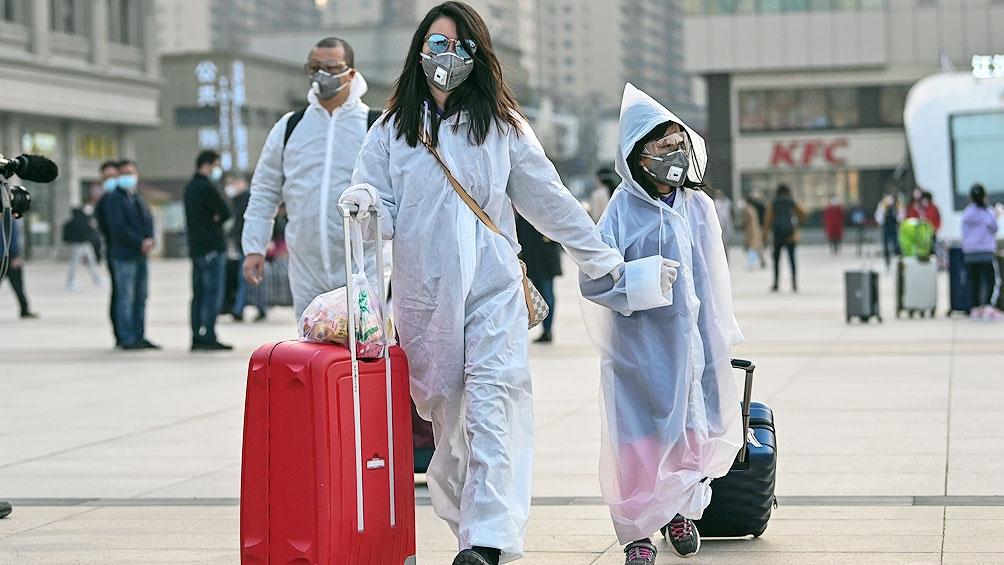 Coronavirus en China: continúan creciendo los casos importados