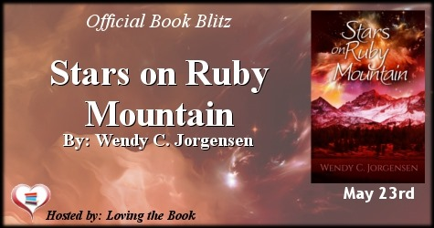 Stars on Ruby Mountian banner