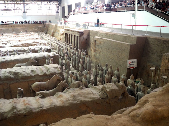 Terracotta Army, Xian, China