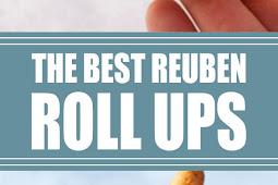 The Best Reuben Roll Ups #snack #reubenrollups