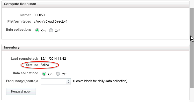 Just Another IT blog: vCAC Inventory Collection Fails