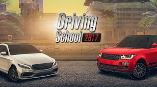 لعبة Driving School 2017 مهكرة للاندرويد (اخر اصدار)