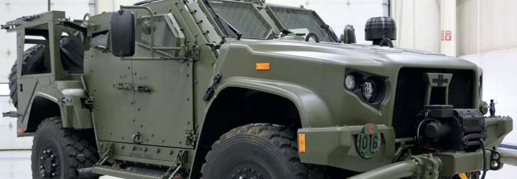 Oshkosh Defense отримала замовлення на 1240 JLTV