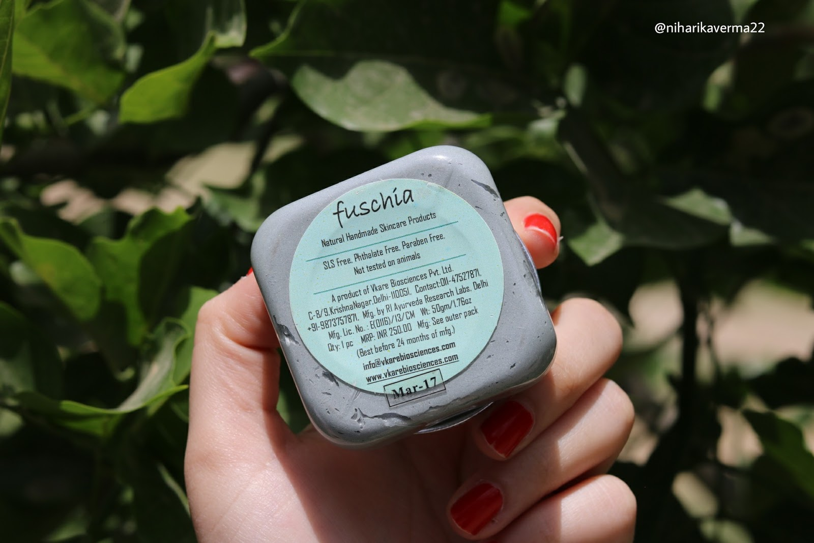 The Pink Velvet Blog - Fuschia Detox Face Mask Review
