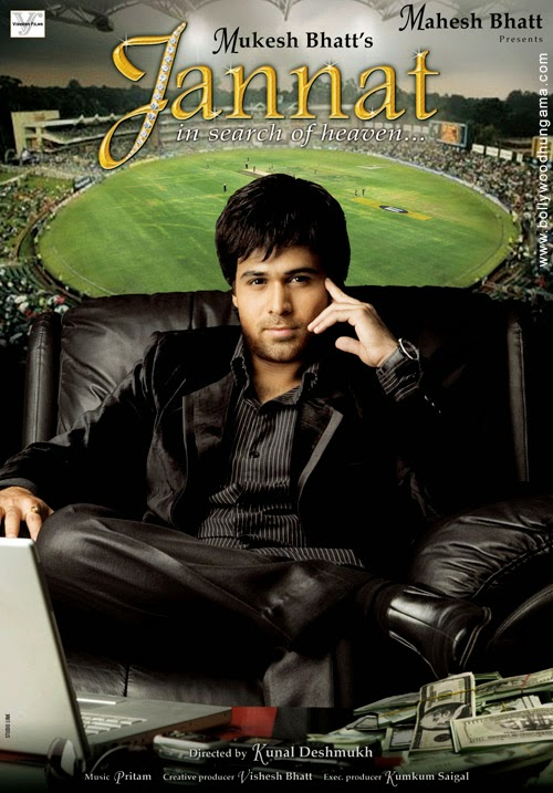 Jannat 2008 Hindi 720p DVDRip 1GB