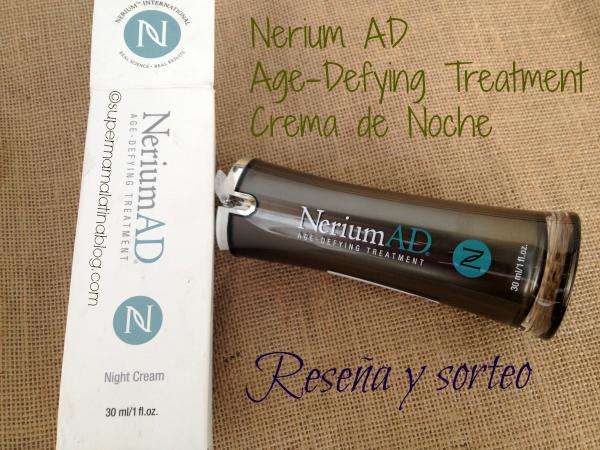 Nerium AD Age-Defying treatment Crema de Noche #Reseña
