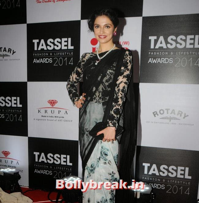 Divya Khosla, INIFD Tassel Fashion and Lifestyle Awards 2014