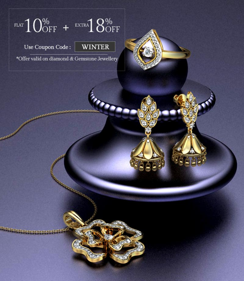 Image result for Candere Offer : Get 28 % off on Diamond & Gemstone Jewellery